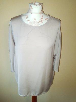 Bluse Atmosphere braun/nude glänzend neu mit Etikett