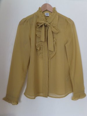 Bluse aus Chiffon in Limette von Vero Moda