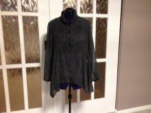 Unger Long Blouse grey cotton
