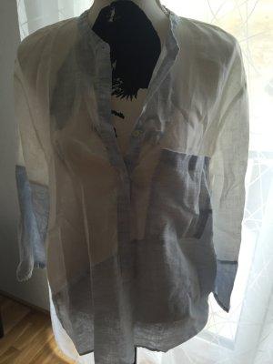 Bluse aus Leinen von Zara