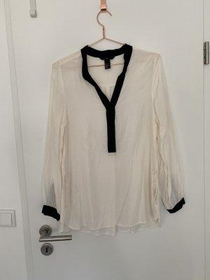 Bluse aus Viskose von H&M Weiß