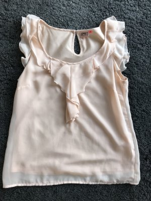 Only Ruffled Blouse pink
