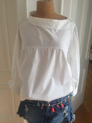 Bluse ,Baumwolle , schöner Kragen .In Italien gekauft