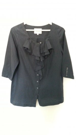 Pepe Jeans Tie-neck Blouse dark blue cotton