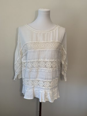 Closed Long Sleeve Blouse natural white-white