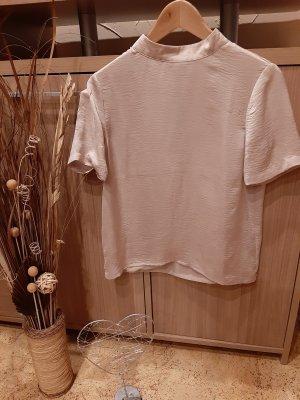 Tigha Glanzende blouse licht beige-beige