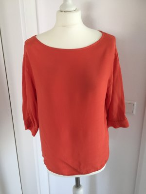 Benetton Blouse à enfiler orange