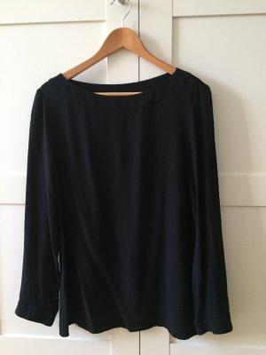 Benetton Blusa de manga larga negro