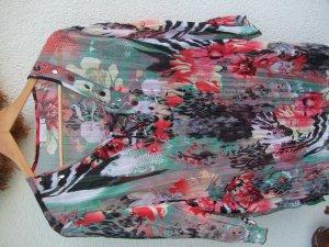 Bluse Bexleys Große Größe 48 Blumenmuster