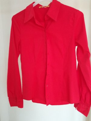 Biba Shirt Blouse red cotton
