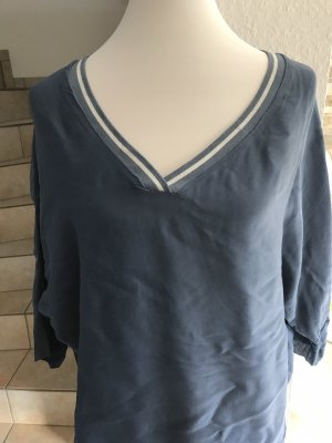 Bluse blau Gr. 40