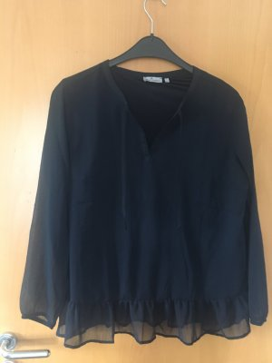 Blue Motion Long Sleeve Blouse dark blue