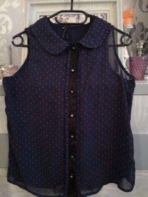 Next Blusa sin mangas azul oscuro