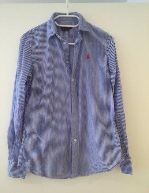 Bluse blau-weiß gestreift Polo Ralph Lauren Gr. 8