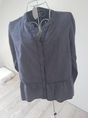 Bluse blau weiß gestreift Street One Gr. 38