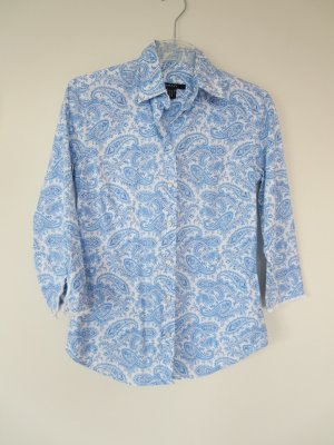 Gant Long Sleeve Blouse blue-white mixture fibre