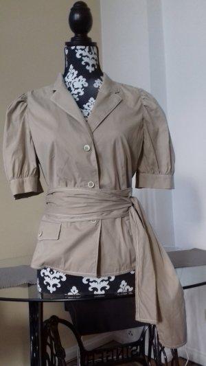 Bluse Blazer von PRADA 36 38 Beige