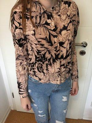 Bluse Blumen H&M Gr. XS