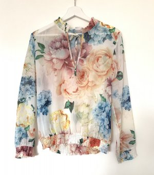 Yamamay Tie-neck Blouse multicolored