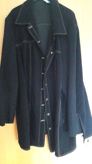 Bluse / Blusenjacke mit Strickärmel