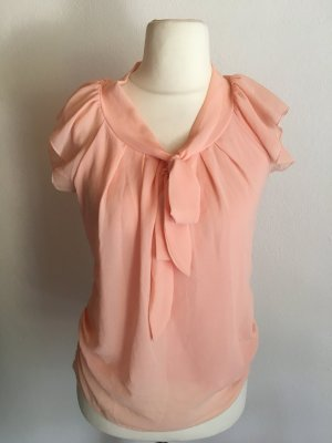 Ruffled Blouse nude-apricot