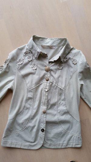 Bluse, Bottega, beige, Gr. 36