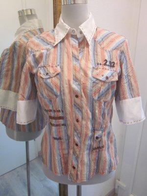 Bluse bunt gestreift Gr 36