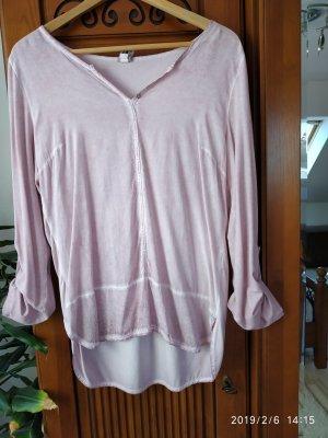 BC Collection Camicia a tunica rosa chiaro-viola