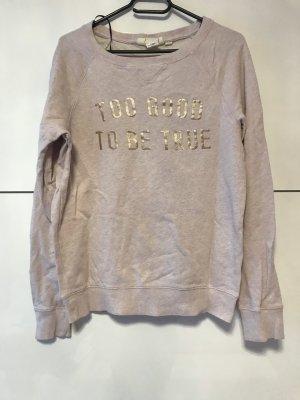 H&M Empiècement de blouses or rose