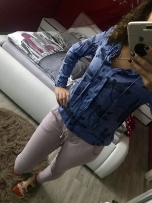 Camisa de manga larga púrpura