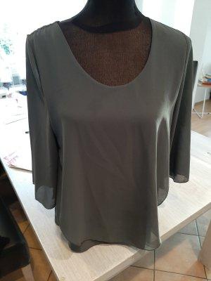Slip-over Blouse dark grey