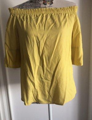 Comma Blusa tipo Carmen amarillo