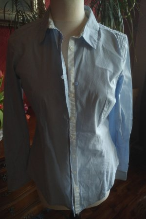 Comma Blouse-chemisier bleu clair
