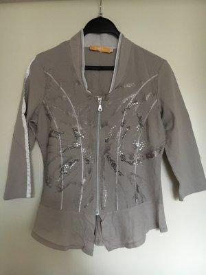 Biba Camicetta a blusa grigio chiaro-argento