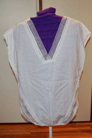 Orsay Mouwloze blouse wit Katoen