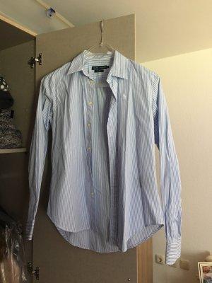 Bluse Damen blau weiß von Ralph Lauren