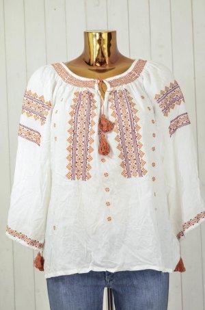 Blusa de túnica multicolor Algodón