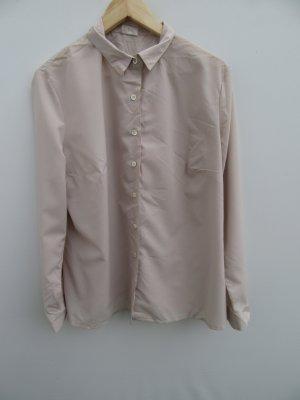Bluse Damen Vintage Retro beige Gr. L/XL