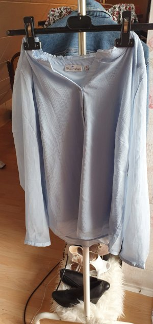 Blue Motion Long Blouse pale blue