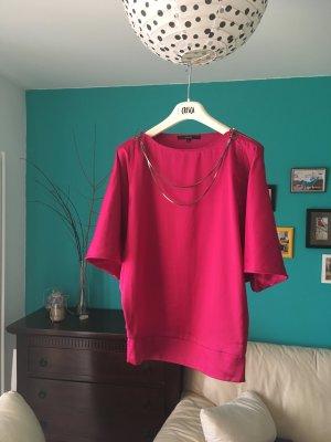 Bluse der Marke Gucci 100 % Seide Pink Sommer