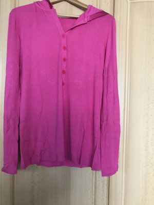 Slip-over blouse roze