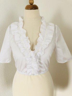 Kinga Mathe Traditional Blouse white cotton