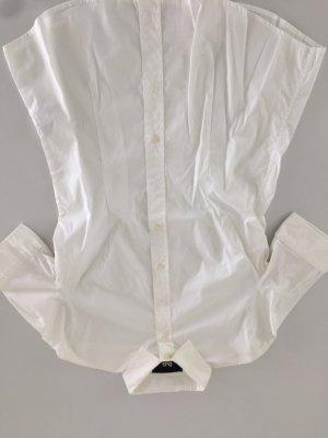 Bluse Dolce & Gabbana Weiss Größe 38  Baumwolle Stretch