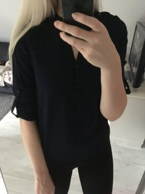 Esprit Blusa-camisa azul oscuro