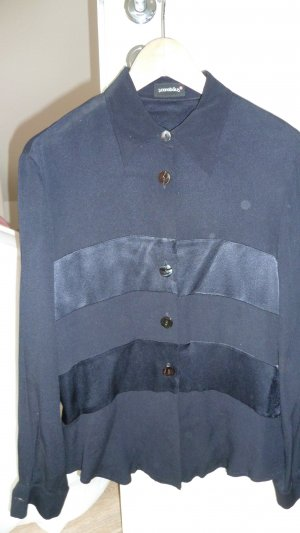 Bluse dunkelblau Gr.36
