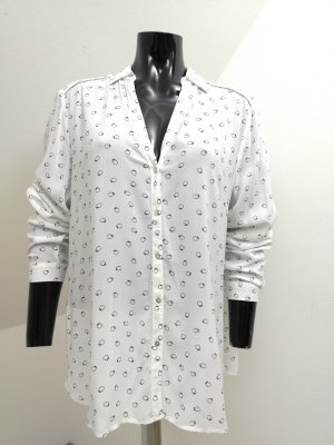 de.corp by Esprit Shirt Blouse white-black