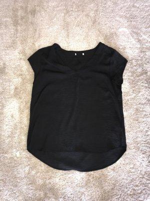 H&M Blusa brillante negro