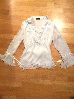 Bluse elegant und im Casual Look in weiß