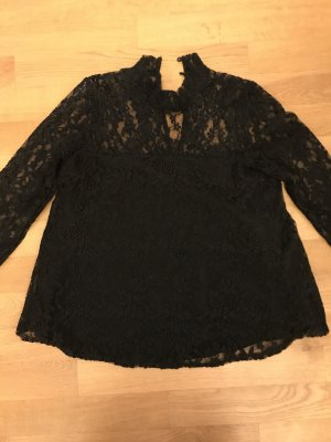 Abercrombie & Fitch Blusa in merletto nero