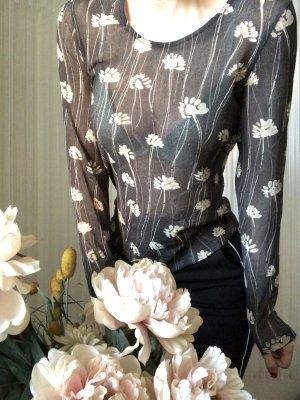 Apriori Blusa transparente multicolor